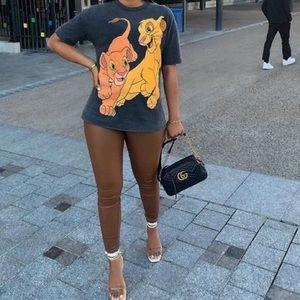 Zara oversized Lion King tee